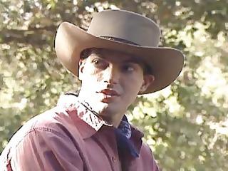 cowboy gay studs expiriencing al fresco porn