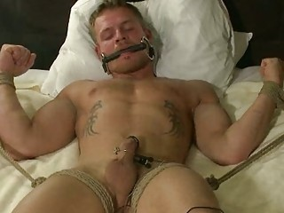 two busty gay studs into light bondage unmerciful