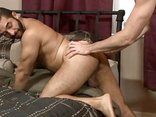 naughty gay acquires bottom fingering and a