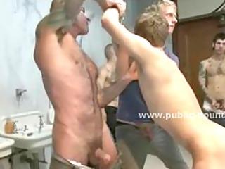 amateur gay sex slave discovers horde of dicks