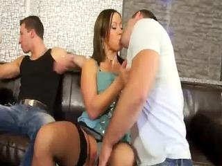 bisexual hot dick licking heats up