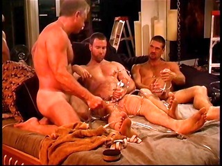 triple gay men get in some sick pain and pleasure