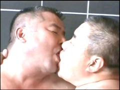 japanese daddy inside hot bath