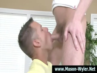 super celebrity gay hunk licks on cock
