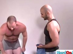 favorable male gets his amazing balls tasted part2