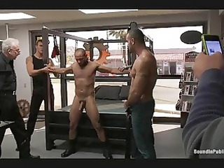 gay hunks humiliate their copulate partner