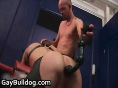 enormously extreme gay bottom drilling and dick