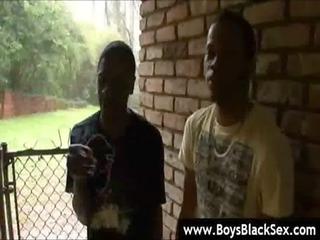 black gay guys deep anal copulate - blacksonboys