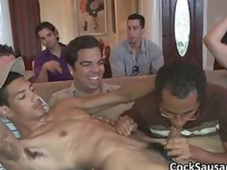 group of horny boy and one gay penis part2