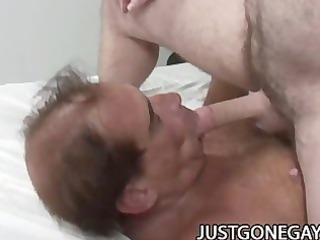 a horny wrinkled penises grandpa gay fuck