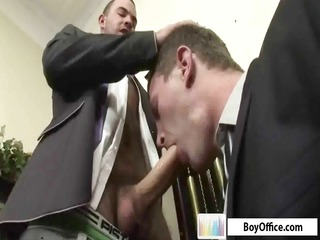 two gay boys into the agency acquire a break for