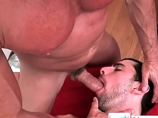 sweet lean fellow obtains gay massage 6