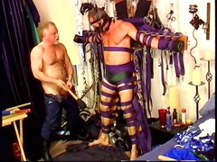 ruthless master gives some mean dick and ball