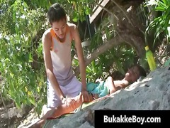 seaside massage boykakke starring gus part1