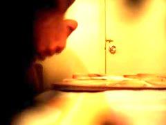 hidden cam into massage parlor