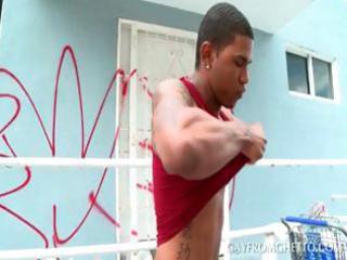 tattoed afro gay ass gangbanged