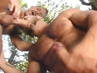 turned on gay studs doing a cock sucking act  al