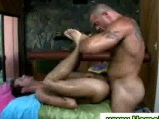 deep arse massage by gay masseuse