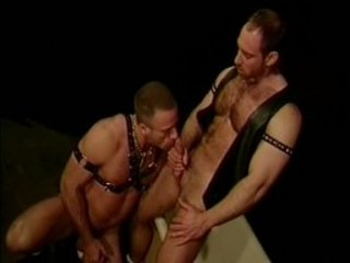 gay bondage piercing fisting and eating sperm