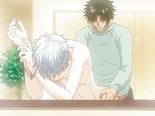 anime gay man drives his fucker giant libido