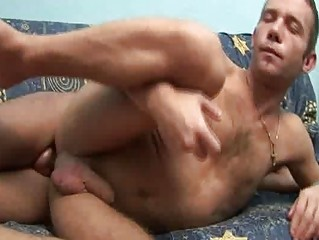 horny gay ass fuck with big facial cum