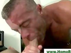 bear seduces straight guy with bj