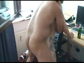 porn inside the gym with gay turkish trainer