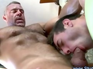 gay masseur and straight client give each another