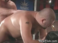 bear heat into the club with two gay men part1