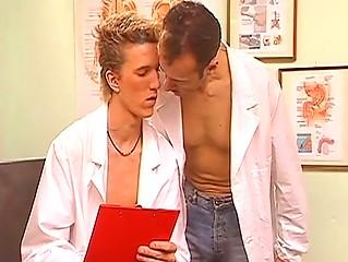 gay doctors bang inside the bureau