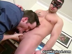 hunky gay guy getting nude and jerking gay guys