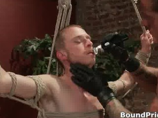unmerciful gay dudes into extreme gay bdsm part4
