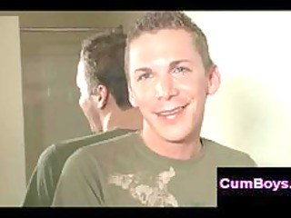 cute gay obtains part in crazy gay group fuck