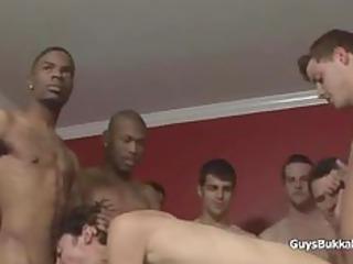 interracial gay copulate gathering