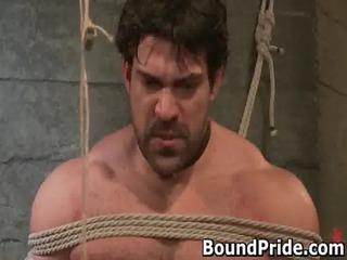 brenn and chad in extreme gay bondage gays