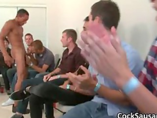 big gay dick sucking group fuck part1