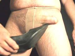 boy in stockings