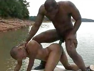 bunch  gay fuck with ebony studs