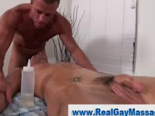 straight man seduced by gay massage and cock