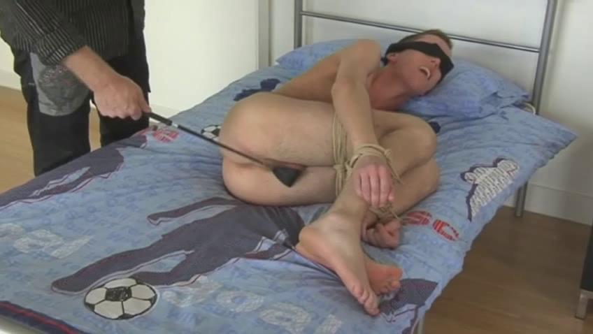 albino gay man acquires blindfolded and spanked