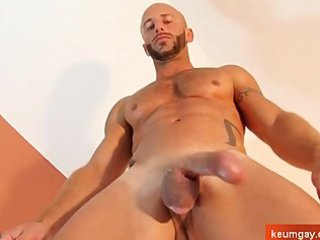 french sport boy own wanked his huge cock by gay