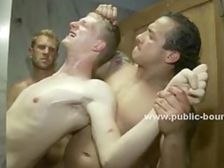 this gay gangbang porn video is brutal