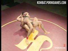 sexy gay wrestling match
