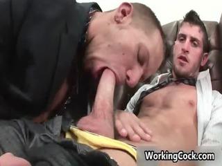 shane frost gang-banging and licking gay fuckers