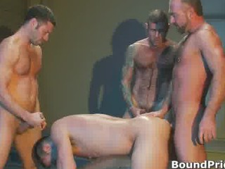 extreme gay bdsm group fuck video part6
