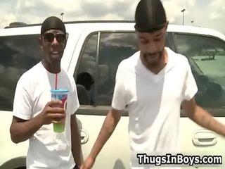 two black guys taking taut gays