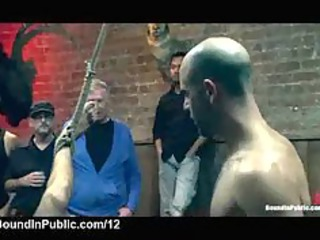 bound gay pierced and cover inside cum inside