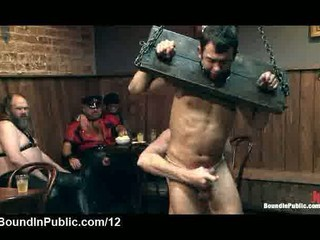 tied up gagged gay touched inside al fresco