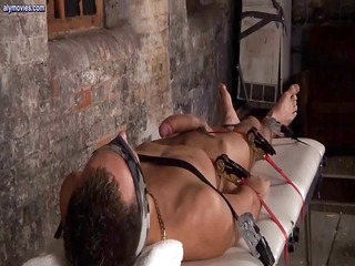 tied up and bound gay is obtaining his giant