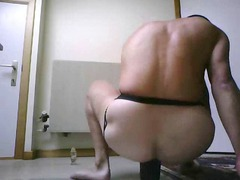 masturbating with my ass